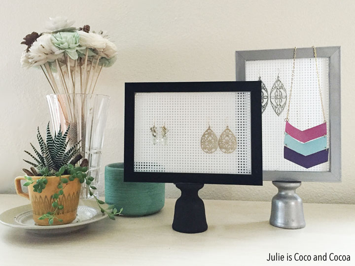 DIY Easy to make Earring Stands