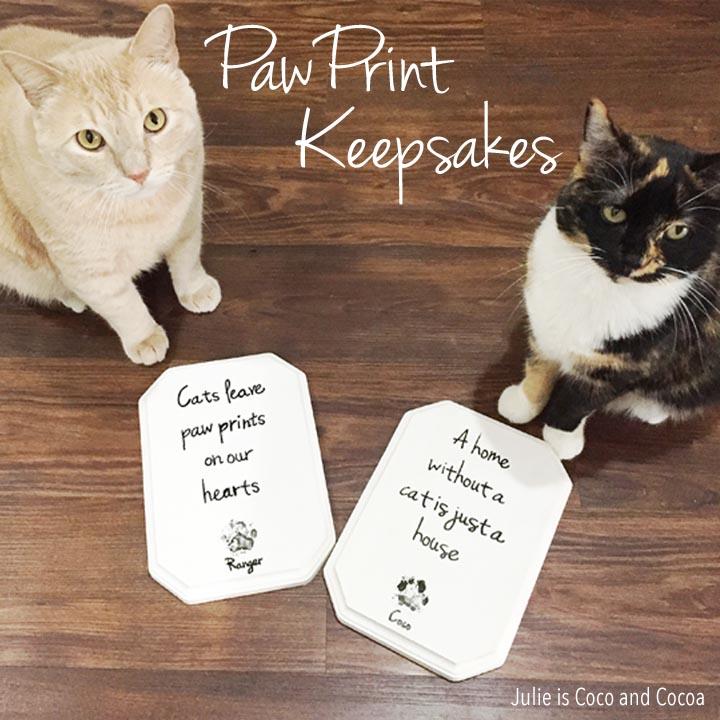 iams cat paw print keepsakes