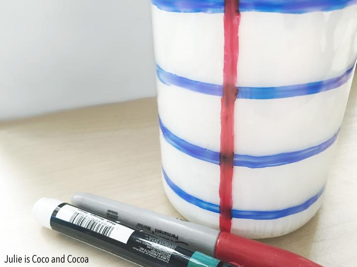 Notebook Paper Mason Jar