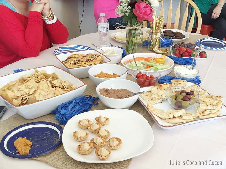 Accessory Swap Party and Easy Made Hummus Recipes