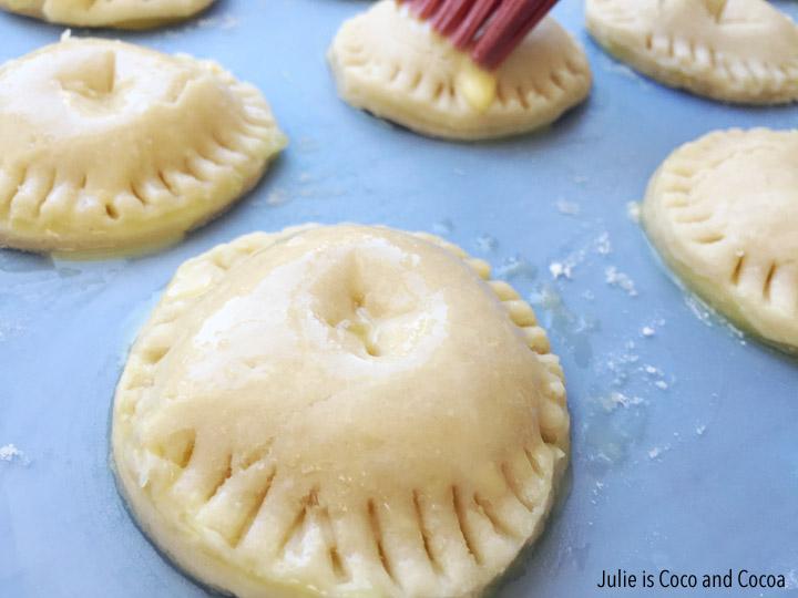 Hand held lemon pies