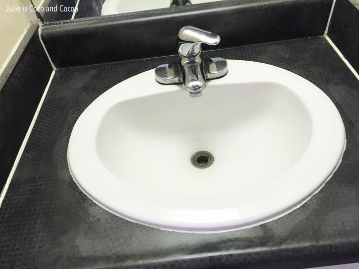 scrubbing bubbles clean sink