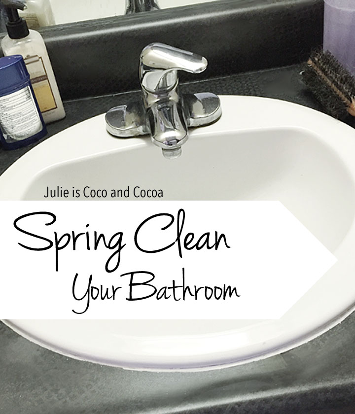 scrubbing bubbles spring cleaning your bathroom