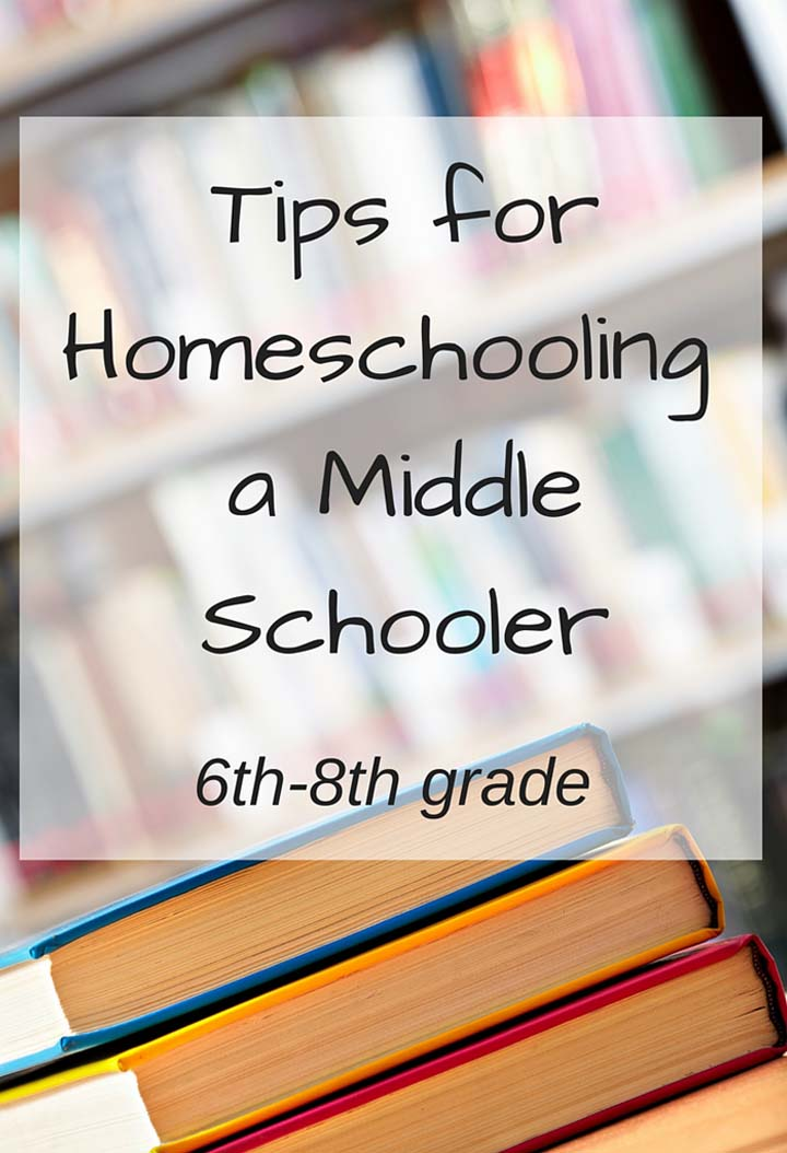 Tips for Homeschooling a Middle Schooler