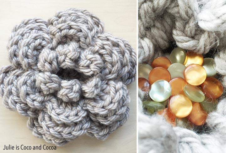'Bloom' Crochet Flower