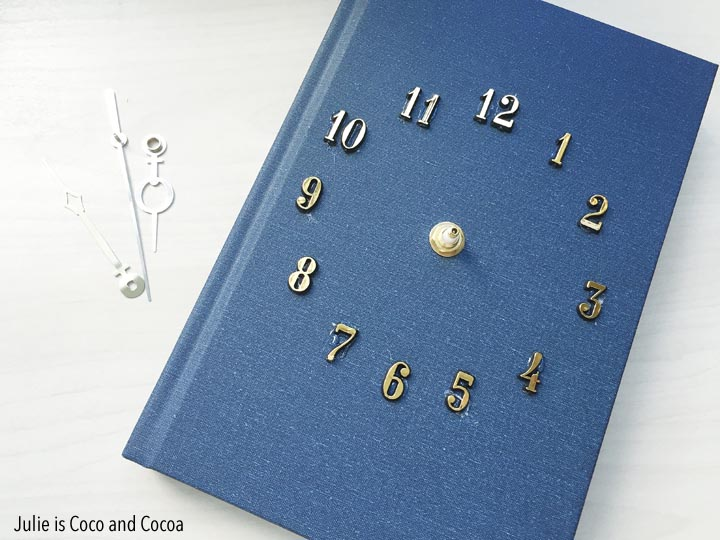 Hardcover Book Clock DIY