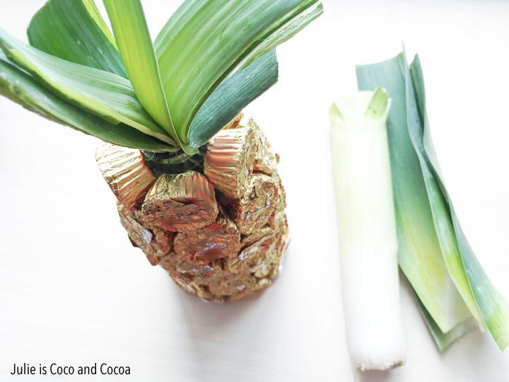 Edible Pineapple Centerpiece