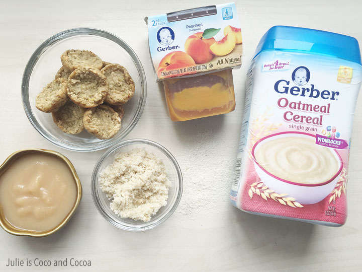 Nestle Gerber Cereal Recipes Three Ingredients