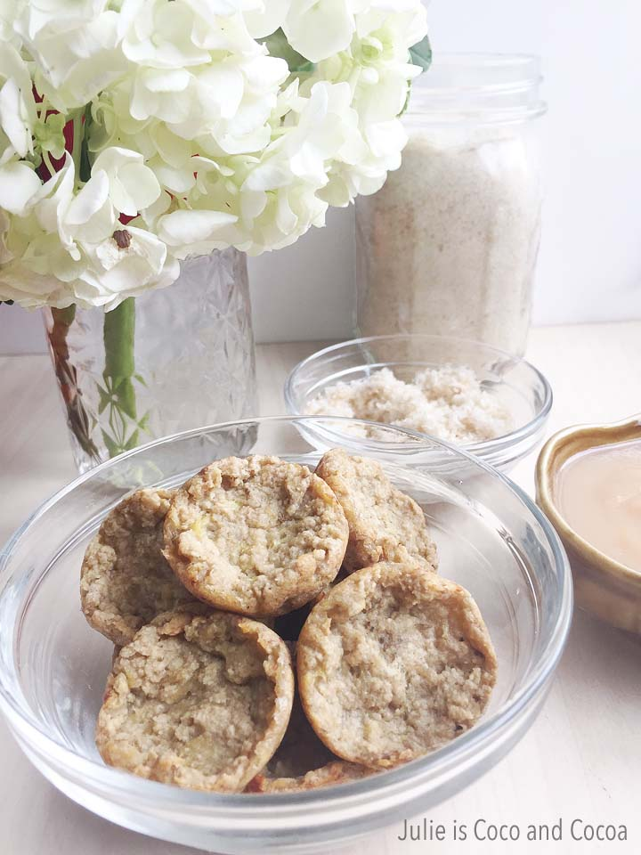 Mini Muffin Bites and Oatmeal Honey Sugar Scrub made with Gerber Baby Cereal