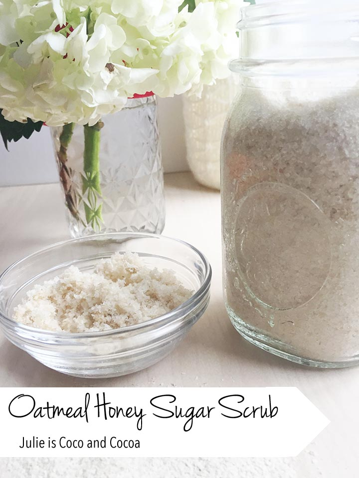 Oatmeal Honey Sugar Scrub with Gerber Oatmeal Cereal