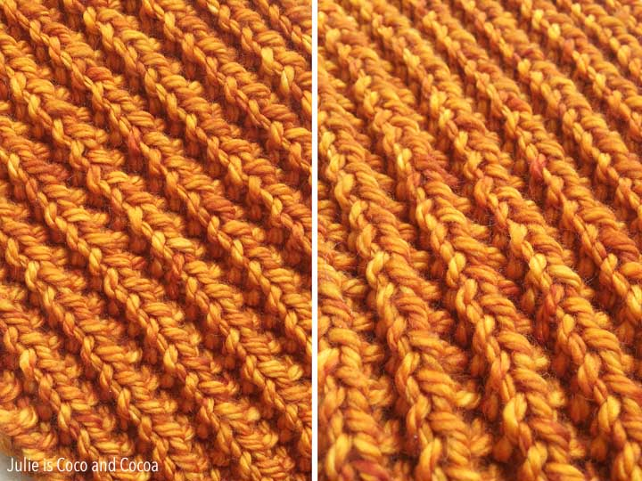 Trilogy Cowl Pattern Mistake Rib Stitch