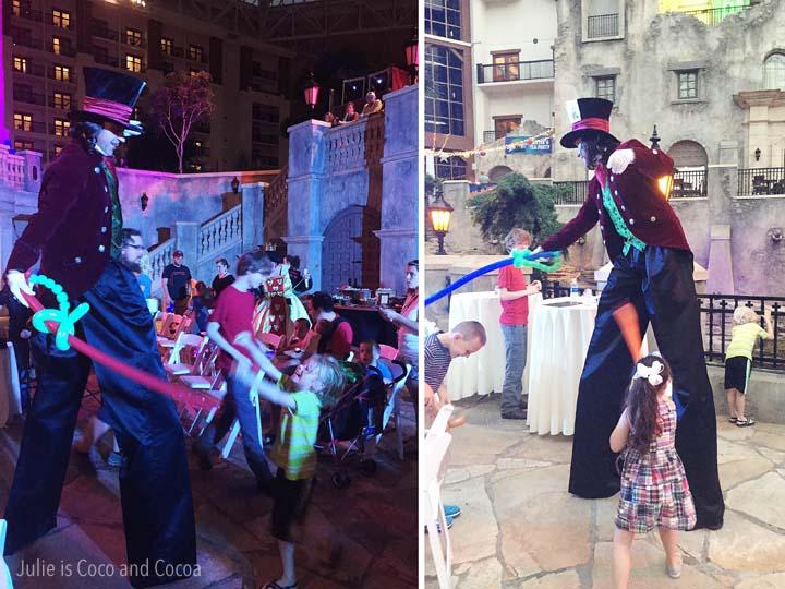 Gaylord Summerfest Alice's Adventure in Wonderland Mad Hatter