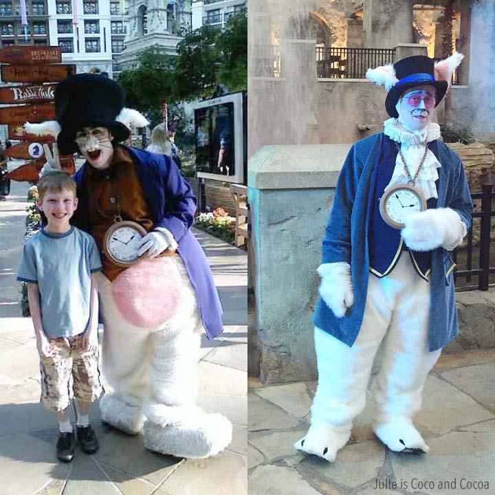 Gaylord Summerfest Alice's Adventure in Wonderland White Rabbit