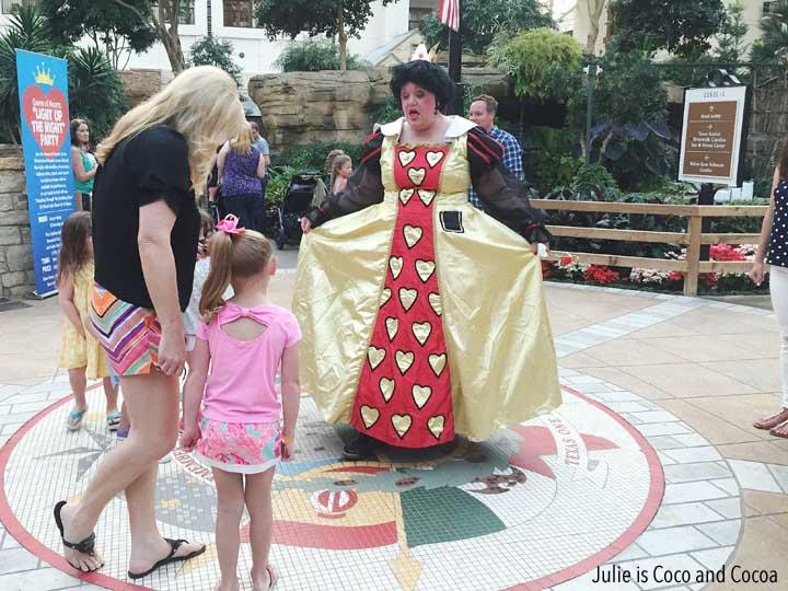 Gaylord Summerfest Alice's Adventure in Wonderland Queen of Hearts
