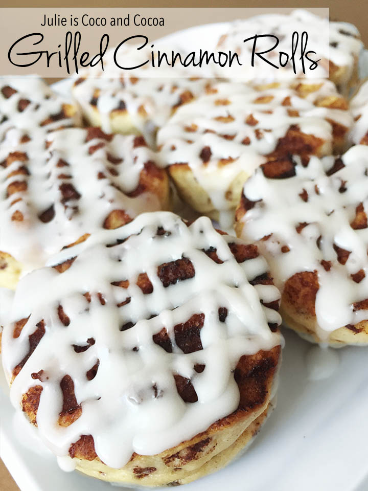 2016 top 10 Grilled Cinnamon Rolls