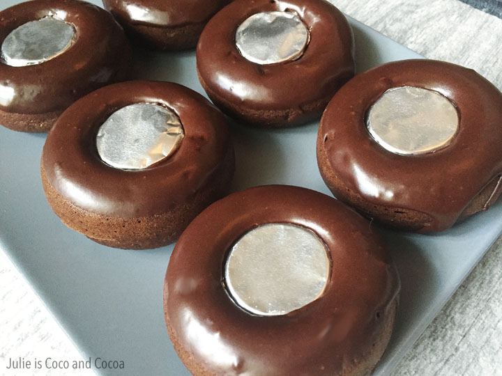 Spare Tire Chocolate Cake Donuts