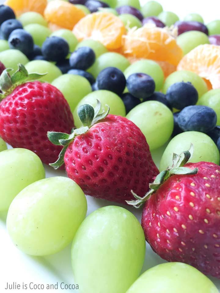 tmnt breakfast for dinner fruit plate