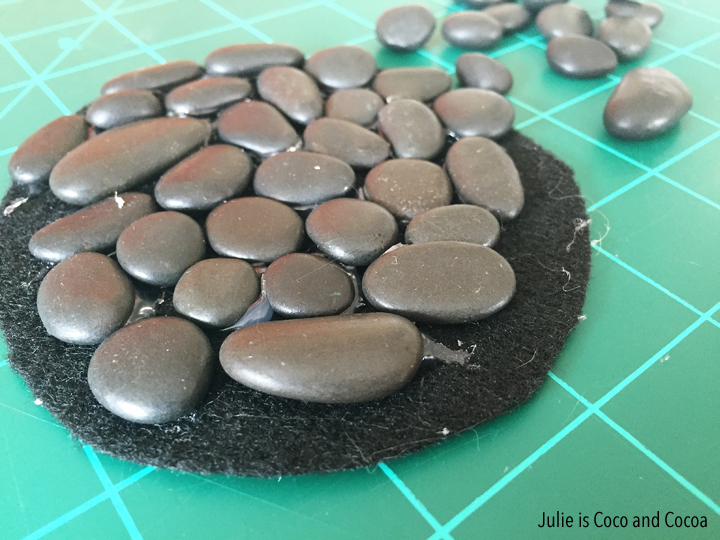 River Rock Coasters DIY from Julie is Coco and Cocoa