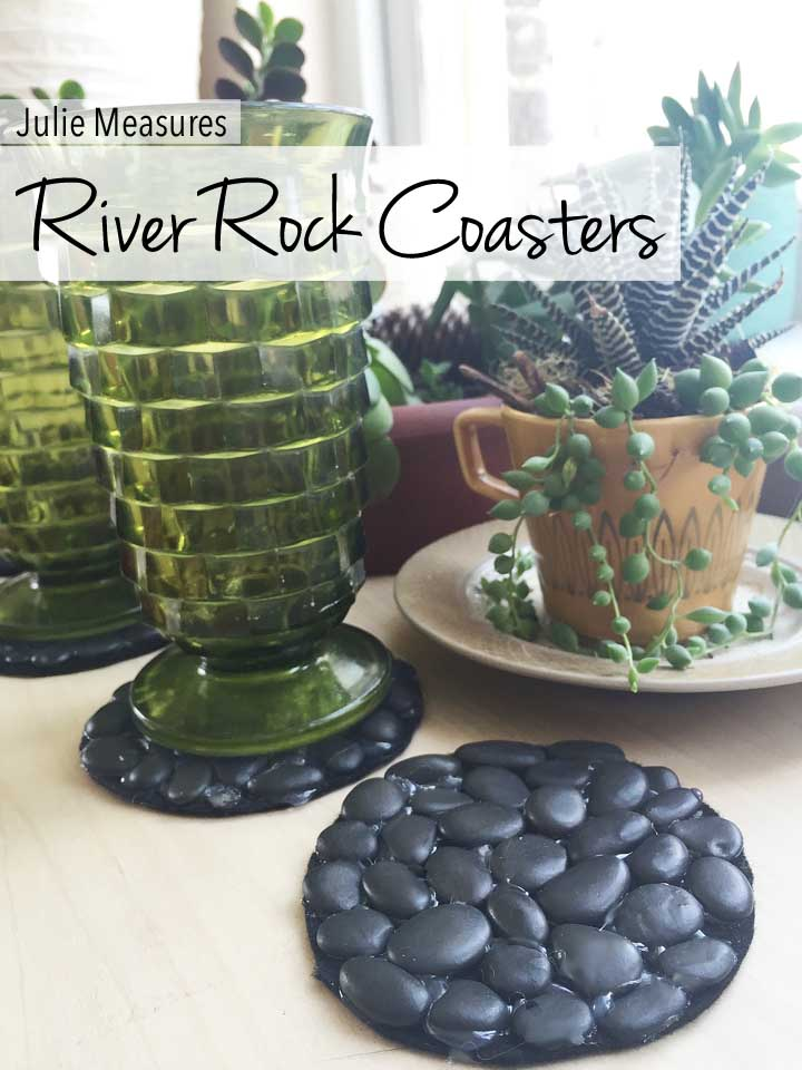 River Rock Coasters