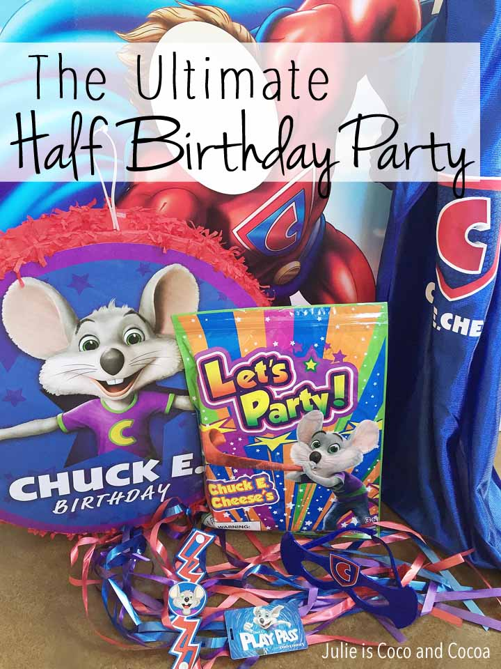 Ultimate Half Birthday Party