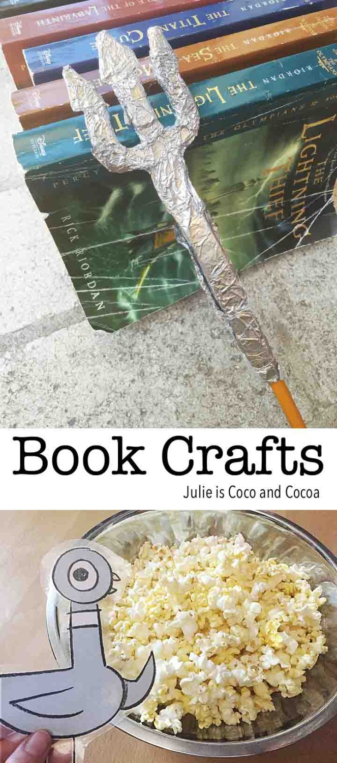 Book crafts make reading fun
