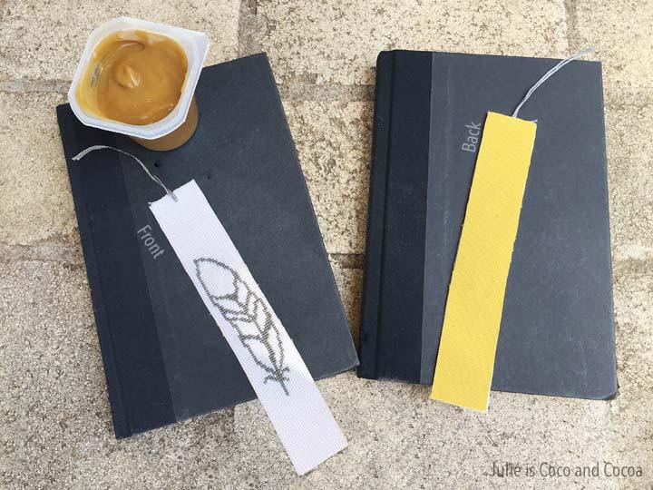 Feather Bookmark Cross Stitch Pattern