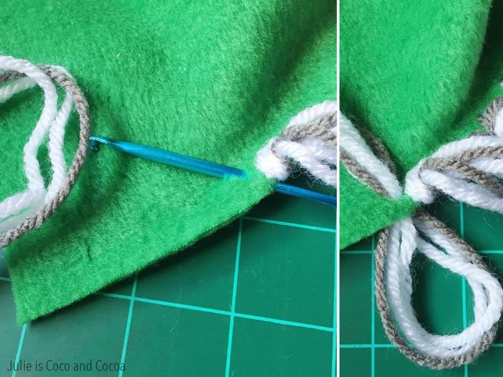 3 No-Sew Fleece Scarf Patterns - Julie Measures