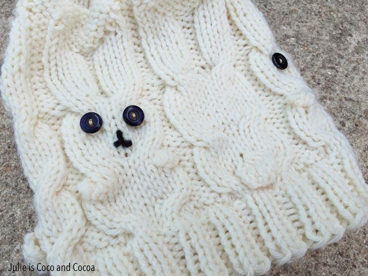 Snow Bunny Hat Knit Pattern