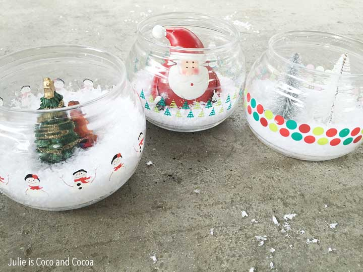 Fishbowl Snowman