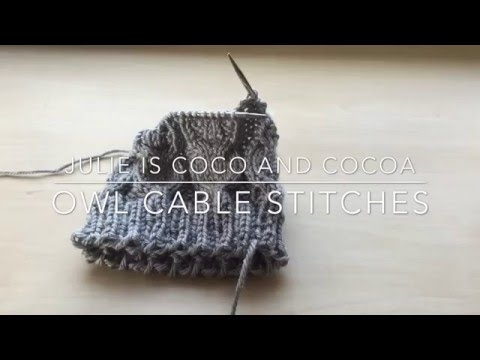 Cable Stitches Knitting How-To