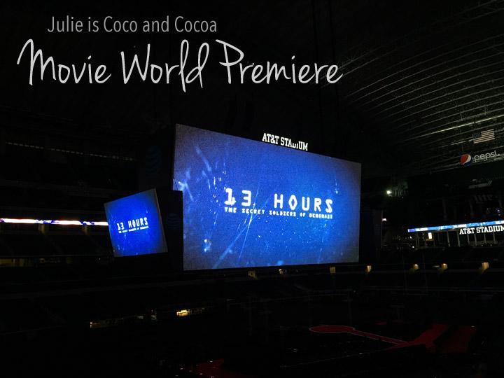 13 Hours Movie World Premiere