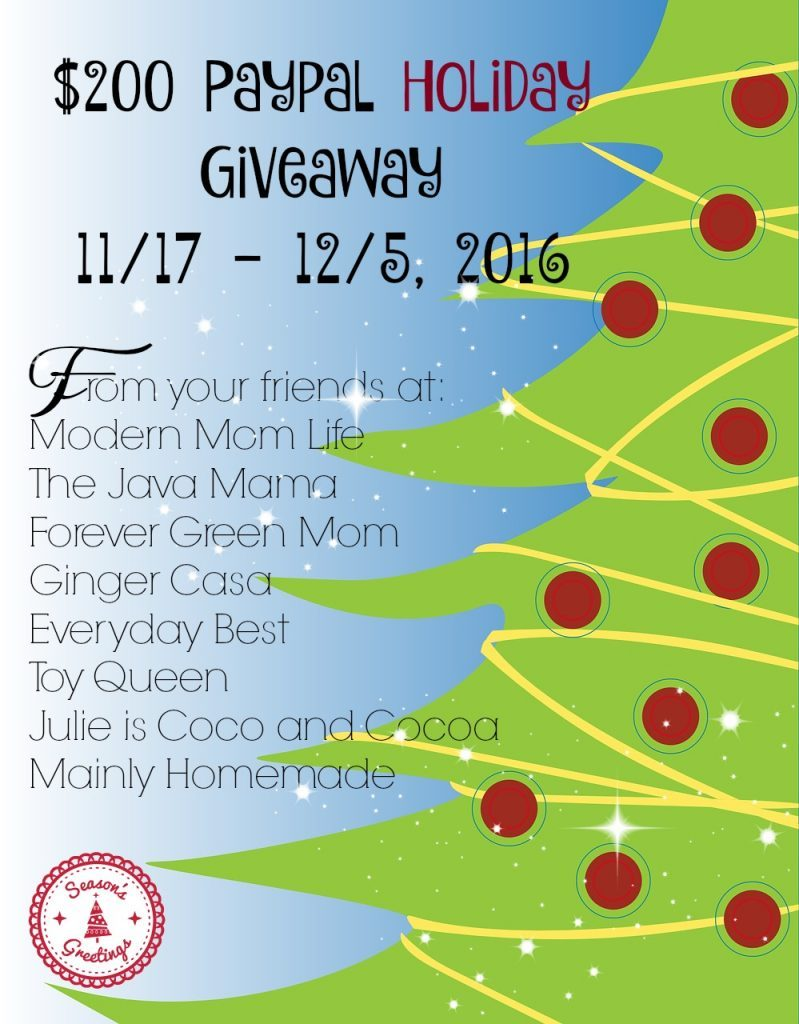 Win $200 In Our Holiday Giveaway