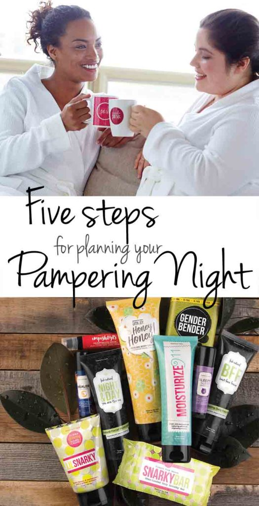 Five steps to planning your Pampering Night with The Girls