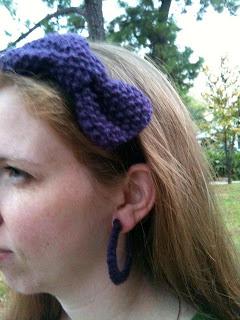 earrings {purple}