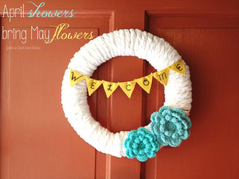 May flowers wreath