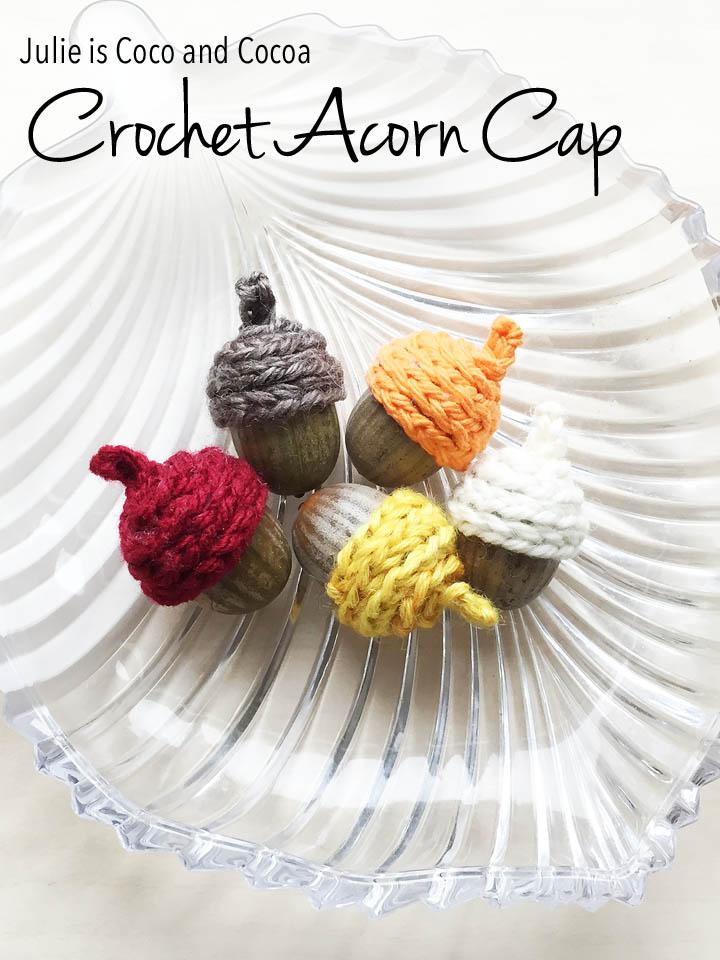 Crochet Acorn Cap