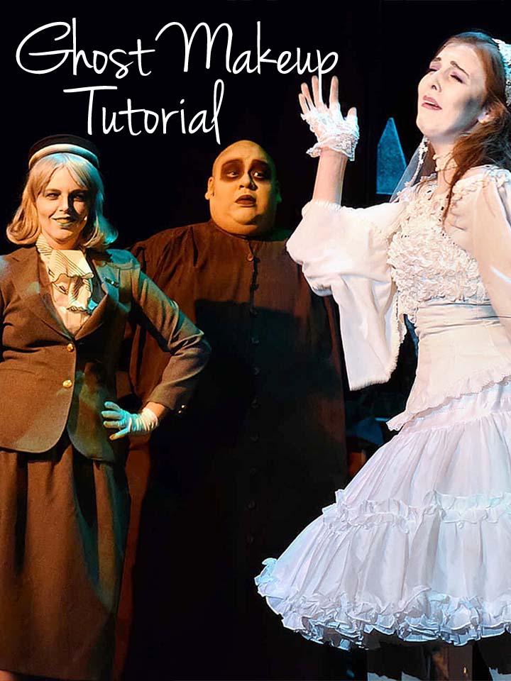 Ghost Makeup Tutorial for Halloween