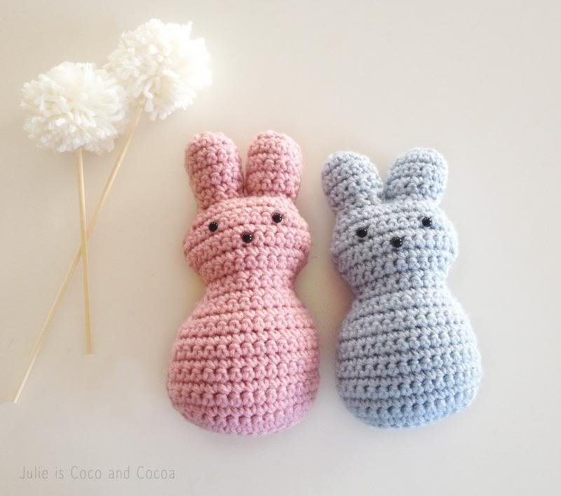 Baby Crochet Bunnies