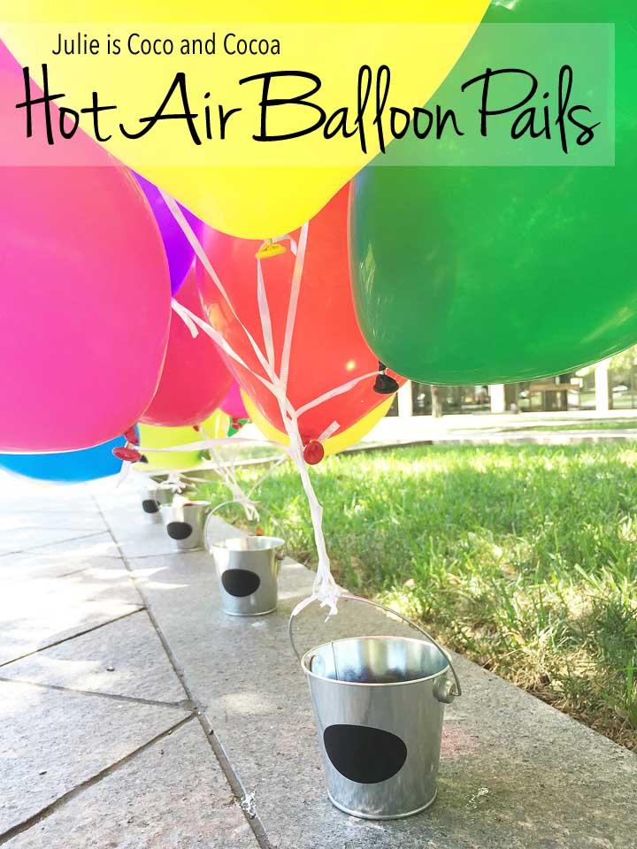 Hot Air Balloon Pails