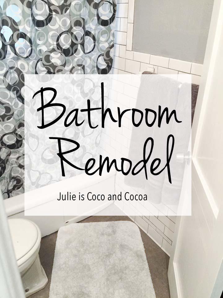 subway tile bathroom remodel julie measures