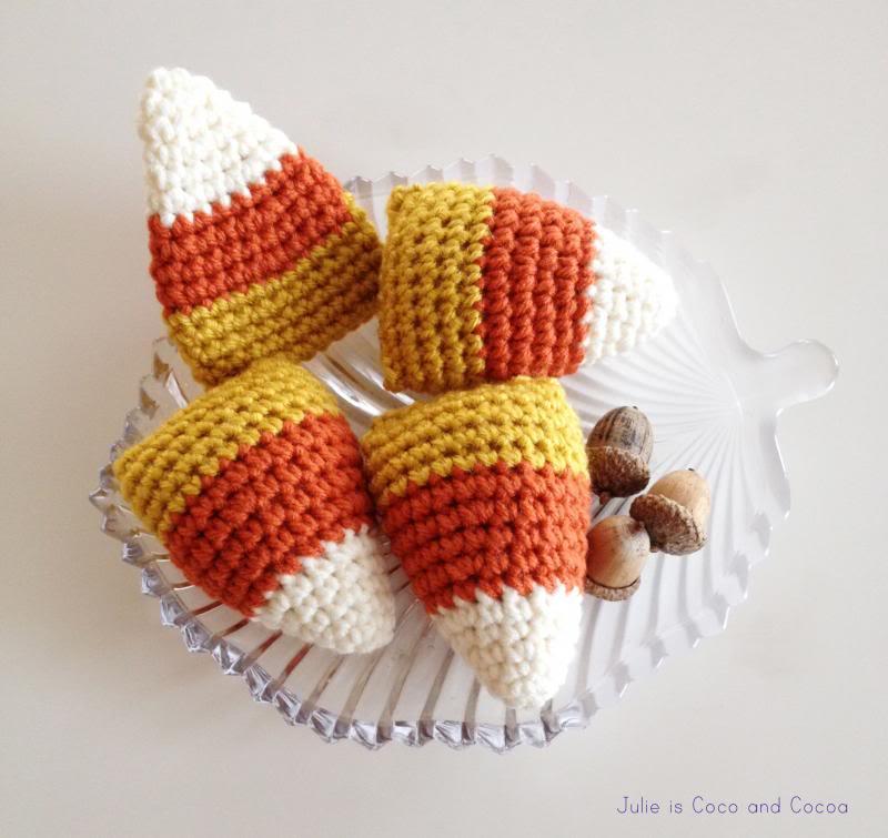 The Cutest Crochet Candy Corn