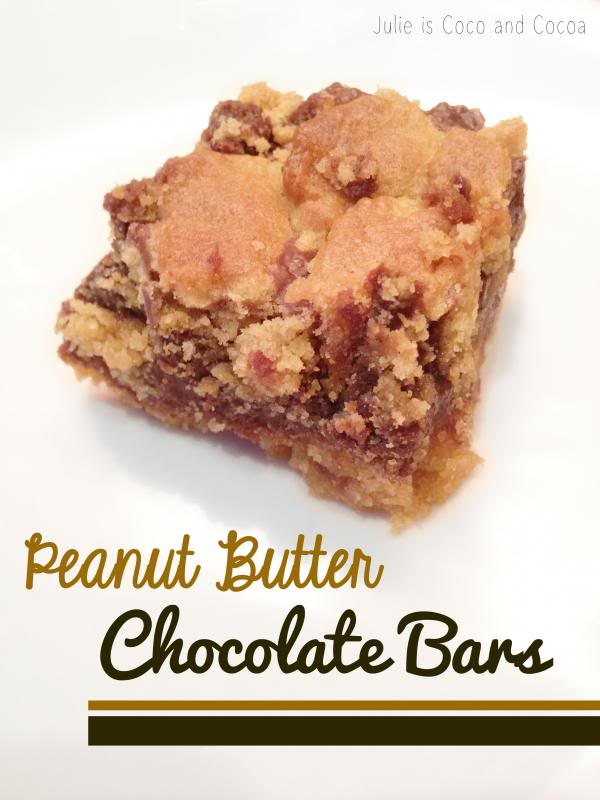 Peanut Butter Chocolate Bars
