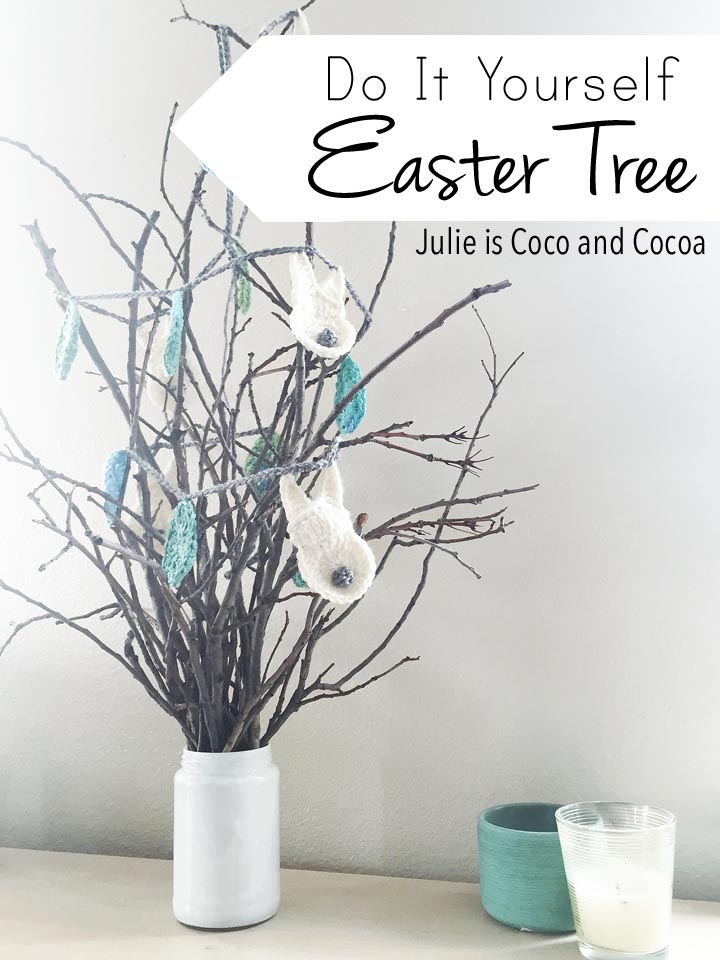 DIY Easter Tree