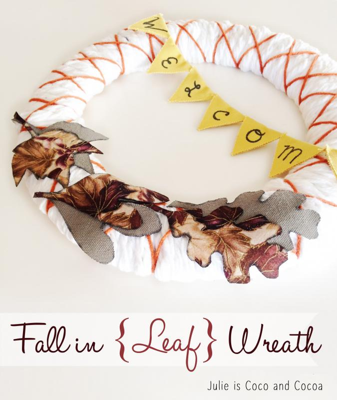 Fall in {Leaf} Wreath