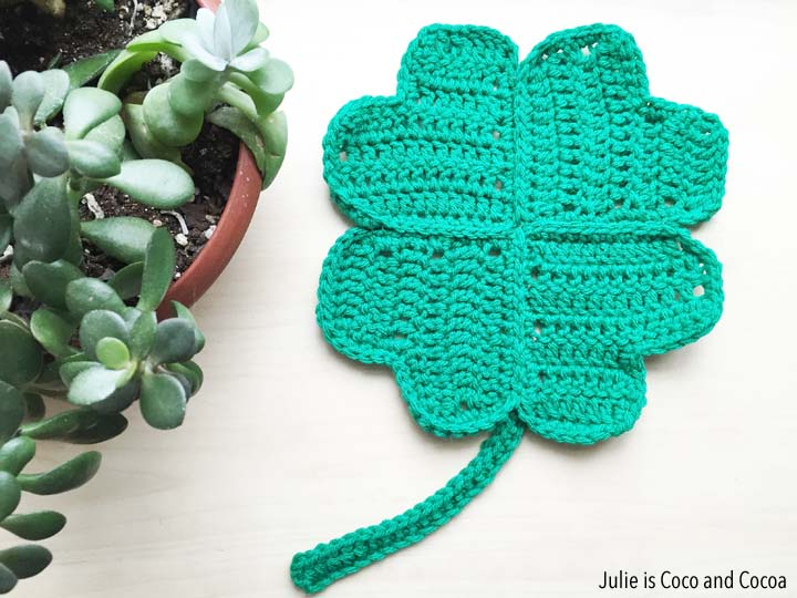 Lucky Clover Crochet Pattern