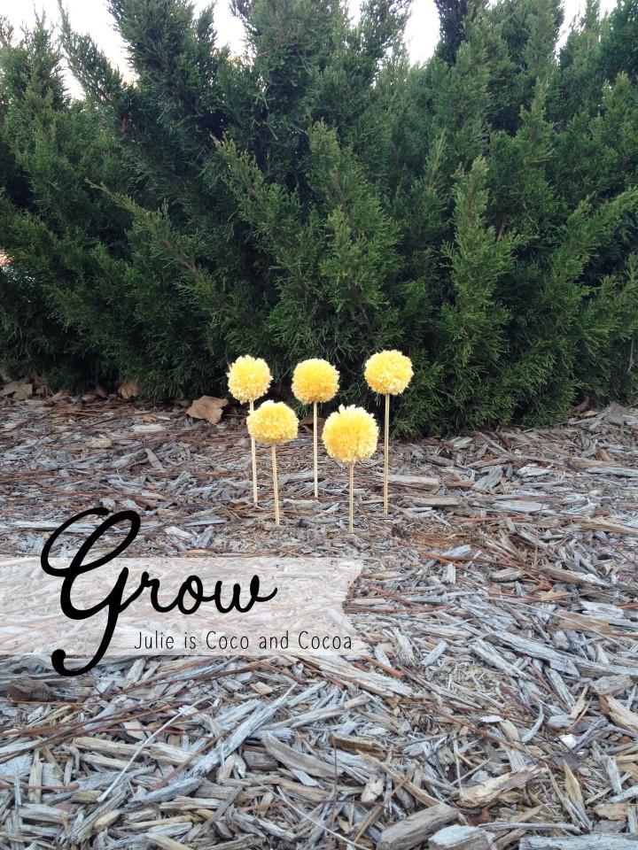 Grow Yarn Bomb