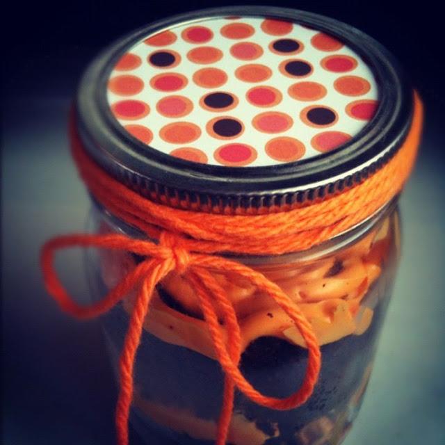 Halloween in a mason jar
