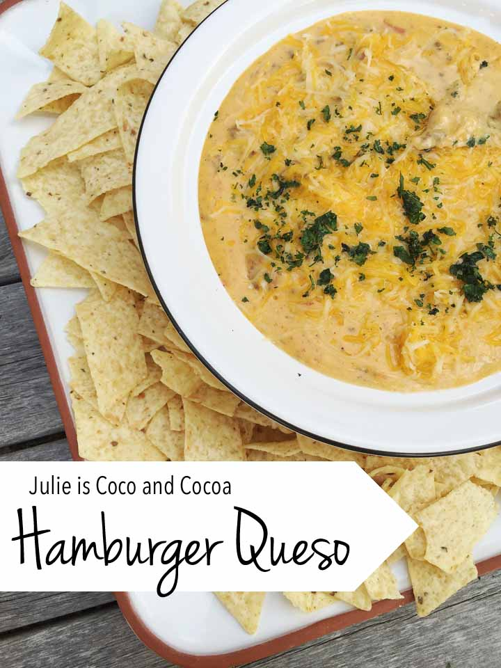 Hamburger Queso Dip