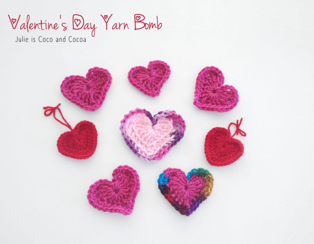 Spread the Love Yarn Bomb