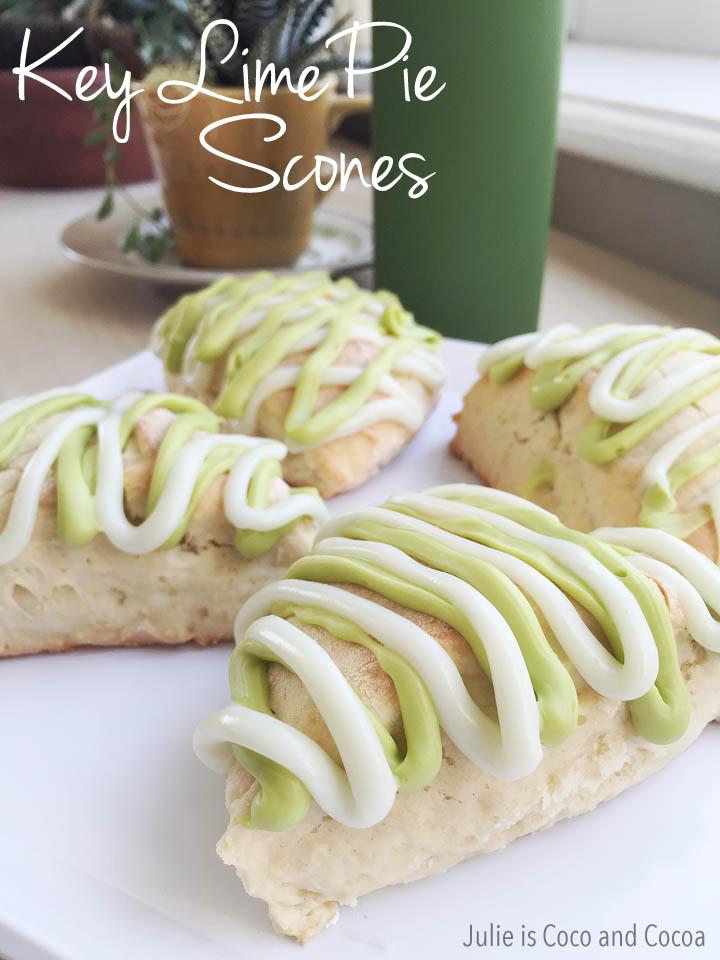 Key Lime Pie Scones